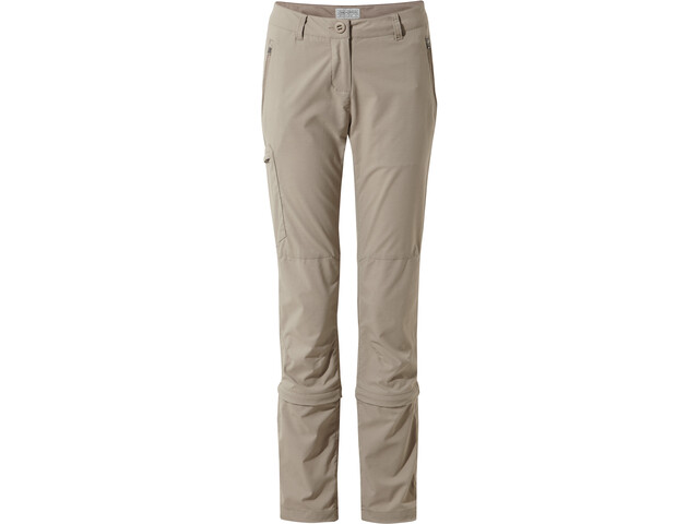 Craghoppers NosiLife Pro II Capri Convertible - Pantalones Mujer - beige